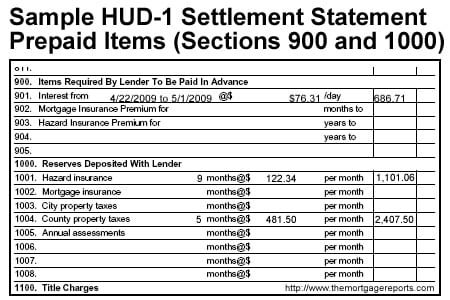 I'm Looking At My HUD-1 Settlement Statement: What Is A Closing ...