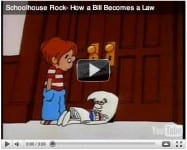 Schoolhouse Rock Bill Becomes A Law
