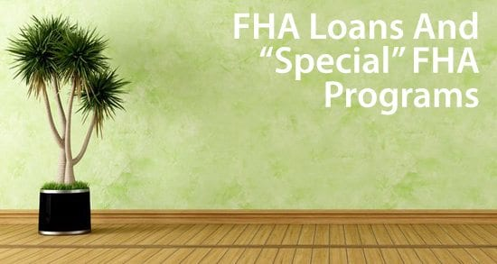 FHA loans for buyers of all types, including 203k, GNND, and Back to Work