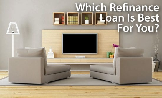 Refinance Options: FHA loans, VA loans, USDA loans, and conventional loans
