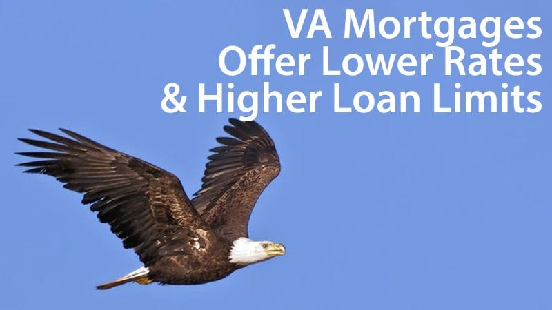 VA mortgages offer lower mortgage rates as compared to conventional and FHA loans