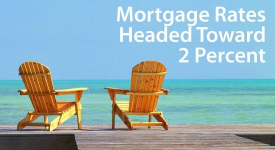 How mortgage rates will get to 2 percent