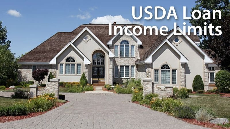 USDA Income Limits vary by household size and geography