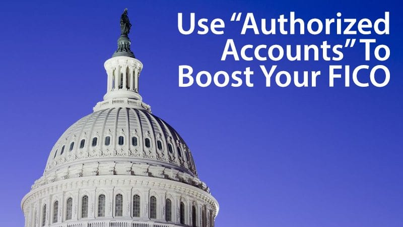 "Boost your credit score as an ""authorized user"""