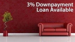 Conventional 97, the 3% downpayment loan, is available