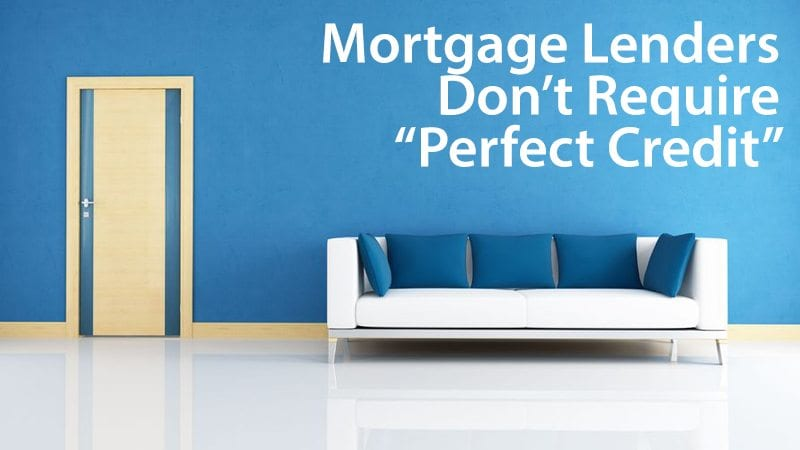 You can get a mortgage with 500 FICO score