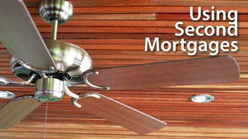 Using second mortgages to finance a home