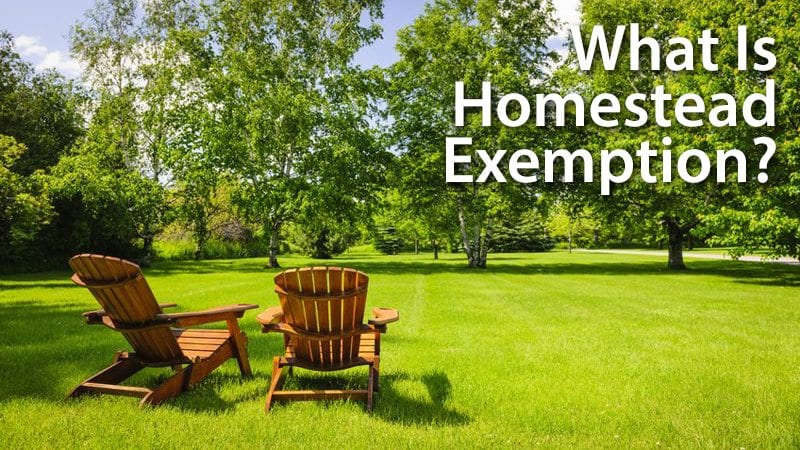 Using homestead exemption to lower your tax bill and protect your property from creditors