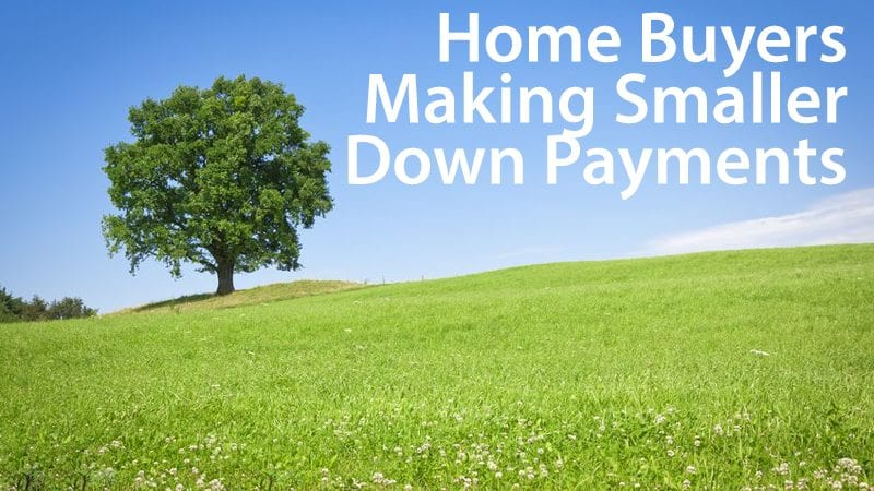 Ellie Mae: Home buyers are making smaller down payments