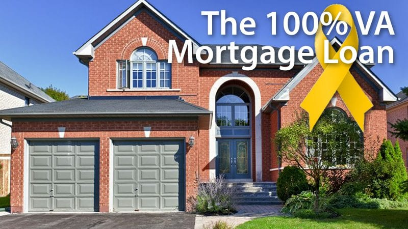 First-Time Home Buyers can use the 100% VA loan to purchase a home