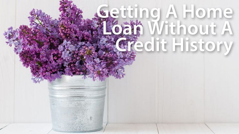 FHA mortgages don't require a credit history -- or even a credit score