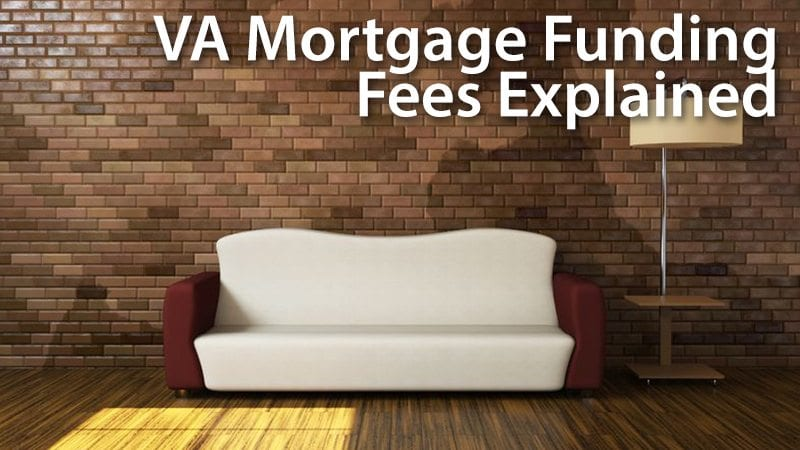 VA Funding Fee Amounts And Explaination