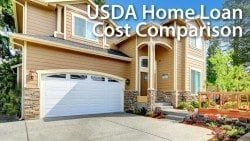 USDA Home Loan Cost Comparison