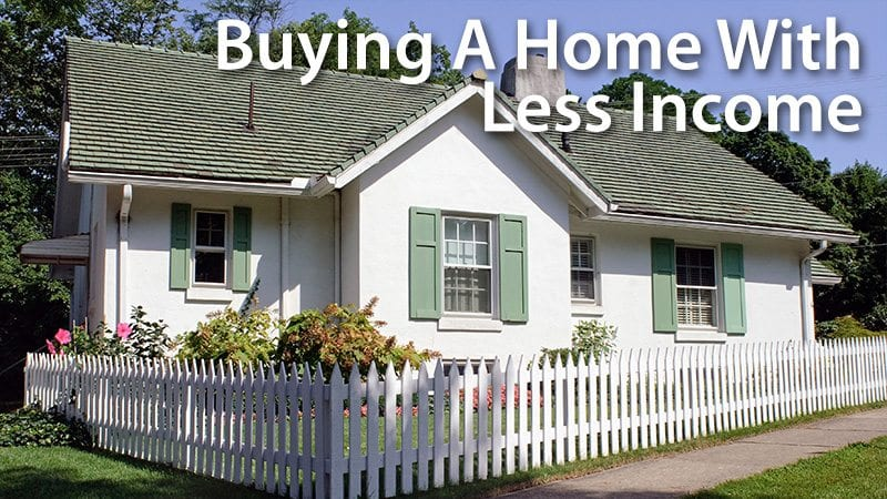 buying a home with low income