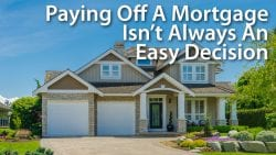 Paying Off A Mortgage