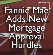 Fannie Mae guideline changes