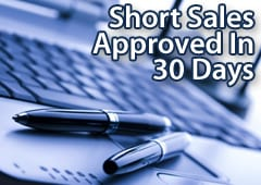 Short sales must be approved in 30 days