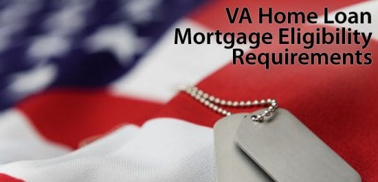 VA Home Loan Eligibility, broken-down by service type and length of service