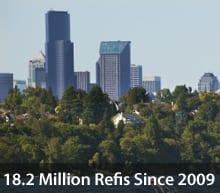 18.2 million refinances since April 2009