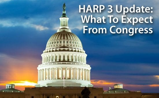 HARP 3 Update : What to expect from Congress when it reconvenes in September 2013