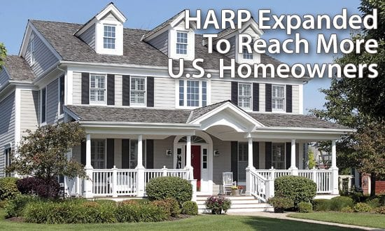 Fannie Mae and Freddie Mac announce a change to the HARP 2.0 program