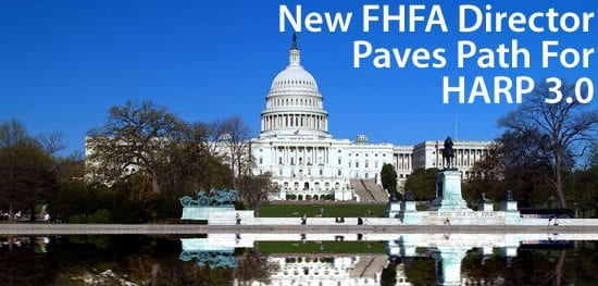 Mel Watt is new FHFA Director; HARP 3 may soon follow