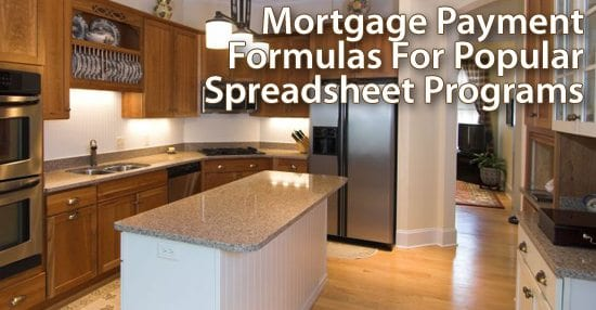 Make your own mortgage calculator using these popular formulas Build your own home calculator