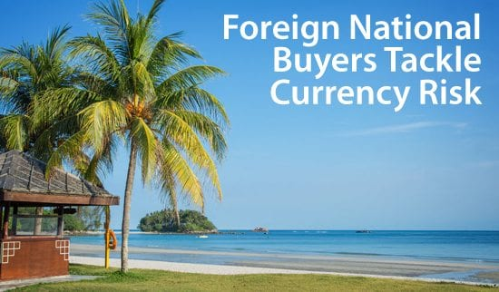 Foreign National buyers of real estate account for 7% of the U.S. market
