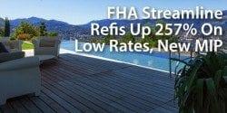 FHA loan volume climbing on low rates, new FHA MIP