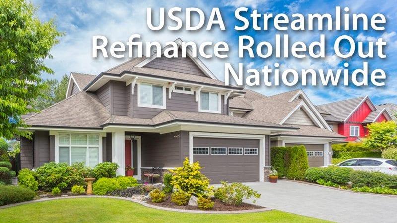 USDA Streamlined-Assist Refinance Program