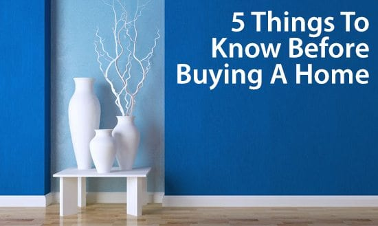 5 things to know about mortgages when you buy a home for Things to do when buying a house