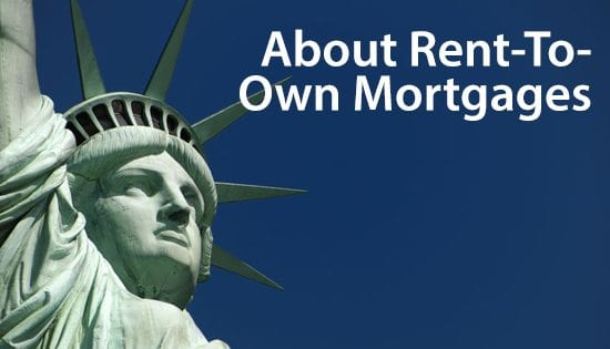 Simple Mortgage Definitions RentToOwn  Lease Option