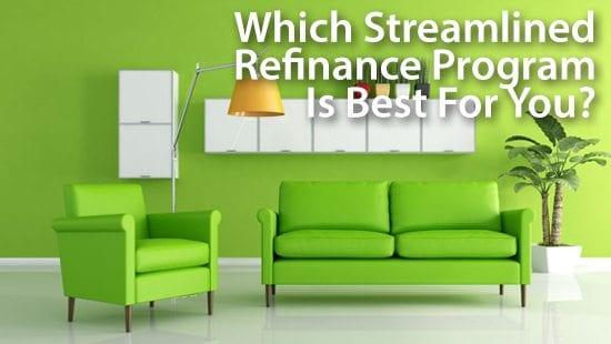 Best refinance options for fha loans