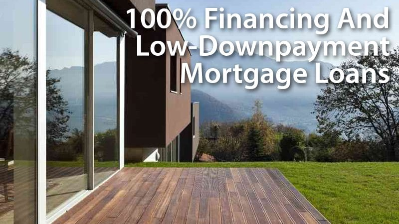 No down payment and low-downpayment loans for today's mortgage borrowers