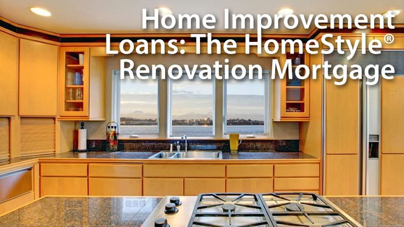 Home Improvement Loan Fannie Mae Homestyle Renovation Mortgage. The Homestyle Renovation Loan May Be A Cheaper Simpler Alternative To Fha 203k. Worksheet. 203k Worksheet At Clickcart.co