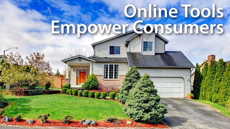 Online Tools Empower Mortgage Consumers