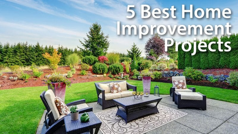 5 home upgrades with the highest return on investment for Best return on investment home improvements