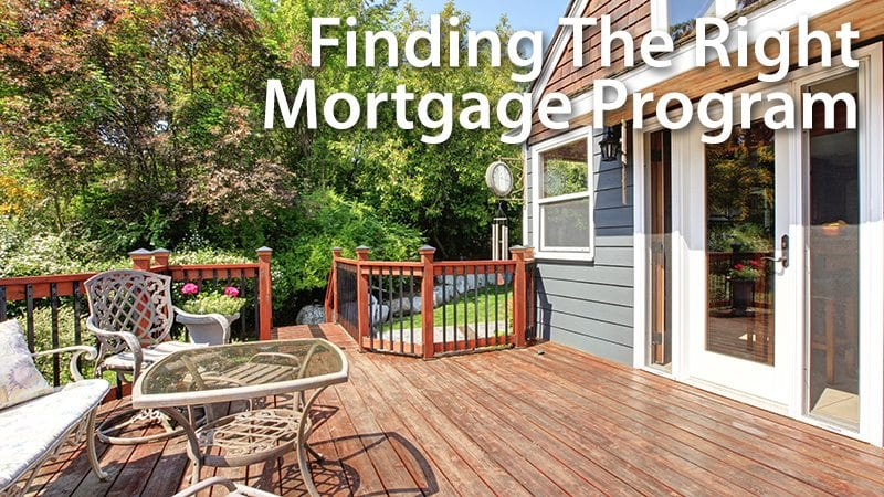 Finding The Right Mortgage Program - USDA Or FHA