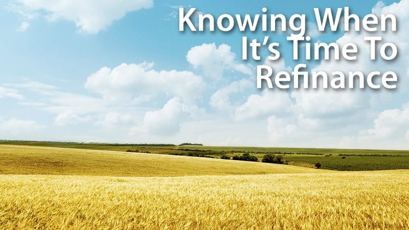 Knowing When It's Time To Refinance