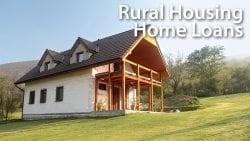 USDA Rural Housing Loans