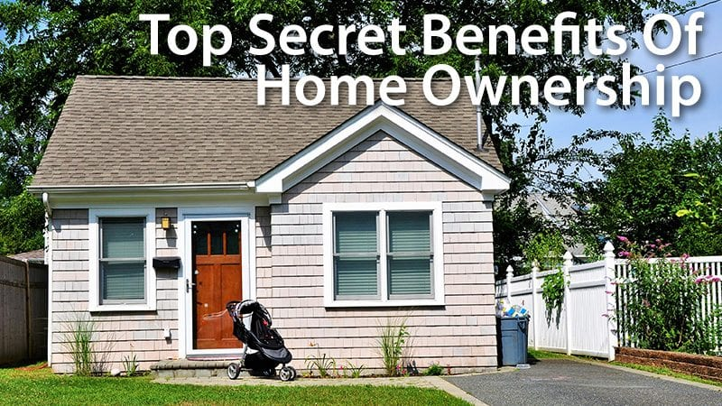 Buying a house benefits of homeownership