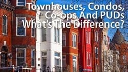 condo vs townhome or townhouse