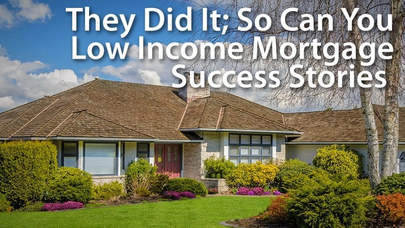 low income mortgage