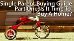 single parent buy a home