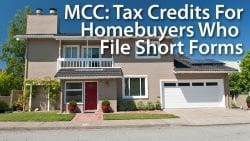MCC Mortgage Credit Certificate