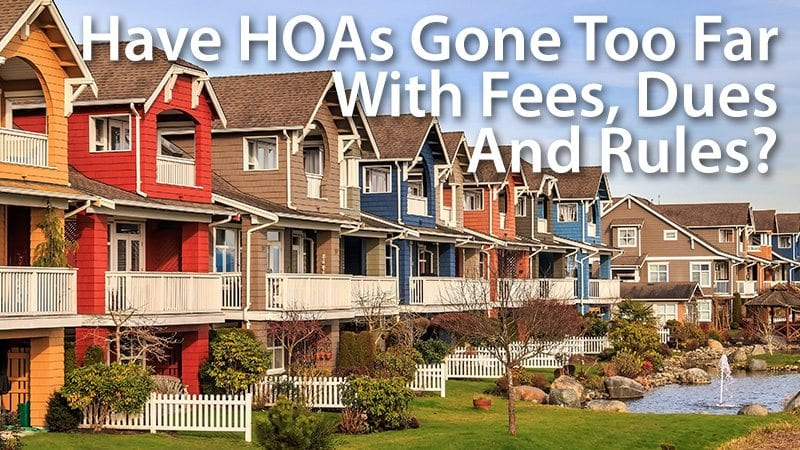Are HOA Dues Making Real Estate Unaffordable? | Mortgage