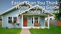 Young family home buying