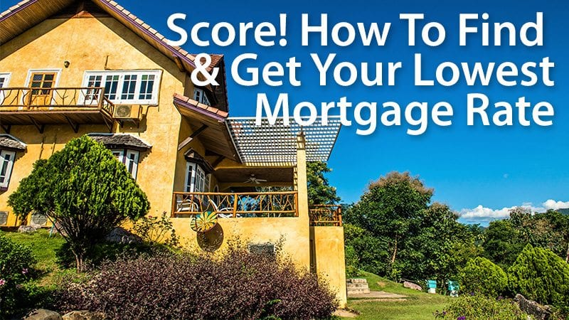 shop for lowest mortgage rate