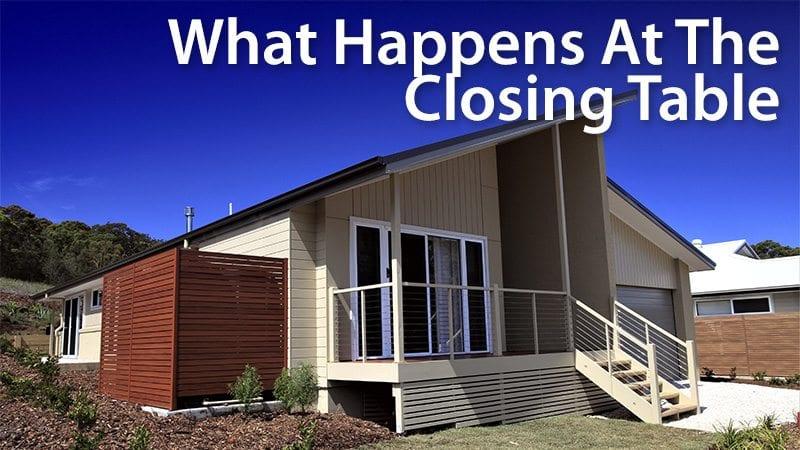 mortgage closing