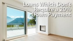 Loans Which Dont Require a Down Payment